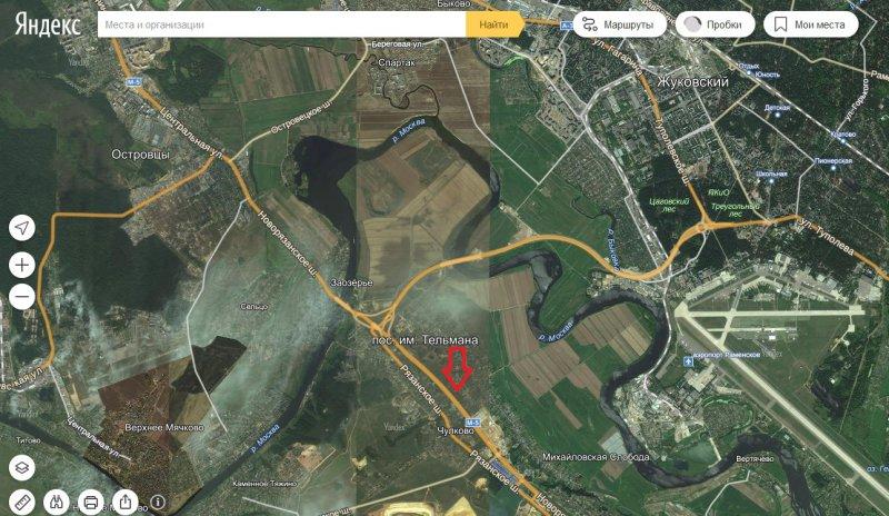 Новорязанское шоссе, Трасса (УРАЛ М5), 18 км от МКАД