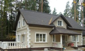 внешняя отделка жилого дома