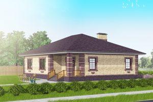 Проект жилого дома 130 кв.м. Построить дом в Раменском