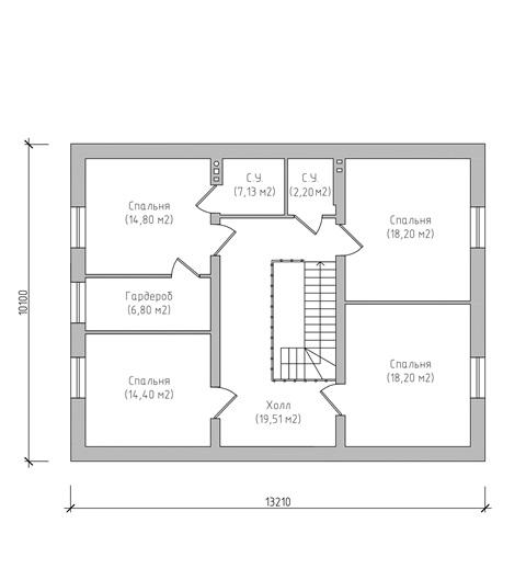 проект жилого дома 210 кв.м